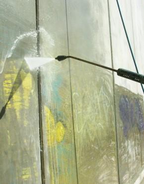Aplicaciones con Graffiti Remover Gel