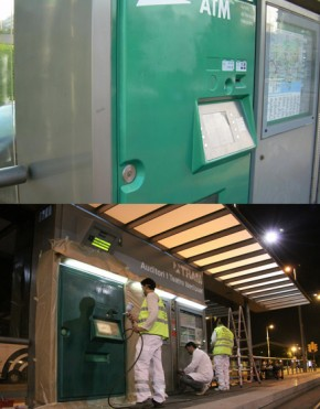 PARADAS DEL TRAMBAIX/TRAMBESÓS (Máquina Expendedora de billetes del Tram)